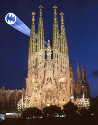 Sagrada Familia, Batman!